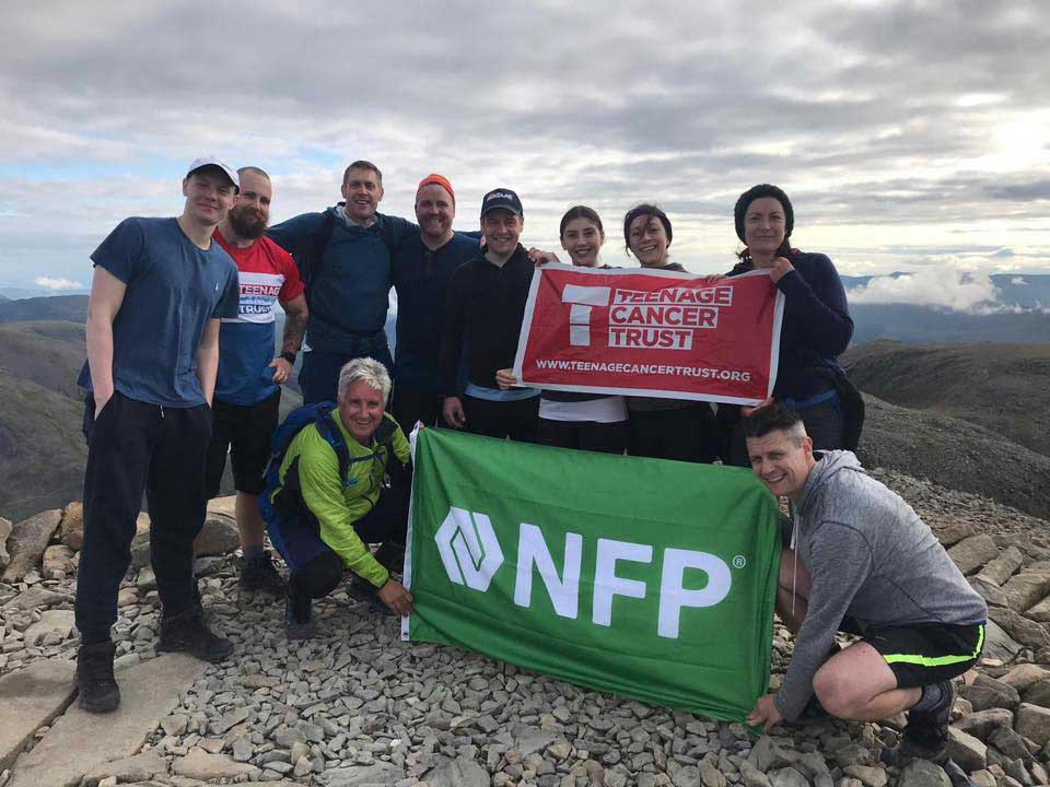 NFP Employees Support Teenage Cancer